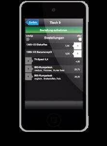 Foto einer Tablet Kasse als Beispiel für ein mobiles Kassensystem